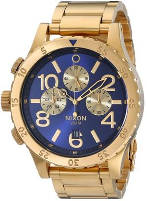 Nixon Men's A4861922 48-20 Chrono Watch