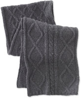 L.L. Bean Signature Wool-Blend Fisherman Knit Scarf