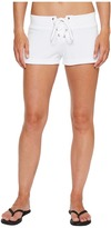Hard Tail Lace Front Terry Shorts Women's Shorts