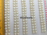 Etsy AAAA 3.0-3.5mm Seed Button freshwater Pearls,4A,white color pearl stud earrings pearl,real pearl ear