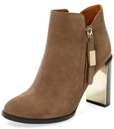 See by Chloe Nara Leather Bootie