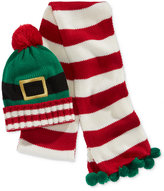 Hooked Up by IOT Juniors' Elf Hat & Scarf Set