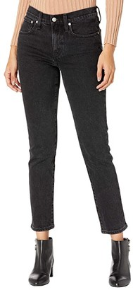 Madewell Boxy Straight Jeans in Black (Lunar Wash) Women's Jeans