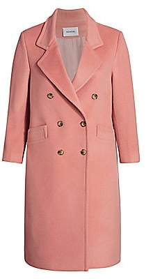 Baacal, Plus Size Women's Davis Double-Breasted Car Coat
