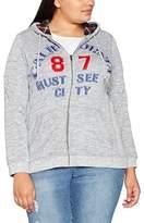 Ulla Popken Women's Sweatjacke Sportiv Sweat Jacket,UK 20