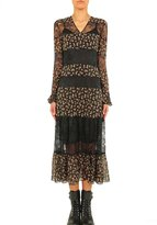 Philosophy Di Lorenzo Serafini Long Floral And Lace Dress