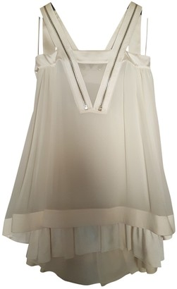 Givenchy White Silk Dresses