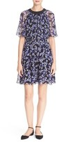 Kate Spade Women's Hydrangea Print Chiffon Dress