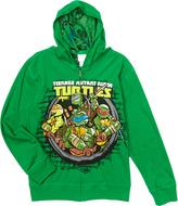 Freeze Green TMNT Reversible Zip-Up Hoodie - Boys