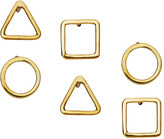 Fossil Soko Shapes Studs Set