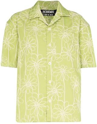 Jacquemus La Chemise Jean embroidered shirt