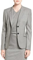 BOSS Women's 'Julea 1' Stretch Wool Suit Jacket
