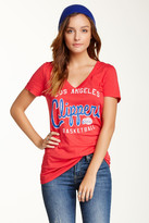 Junk Food Clothing Los Angeles Clippers V-Neck Tee