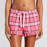 Xhilaration Women's Flannel Pajama Shorts - Gilligan & O'Malley Pink Plaid
