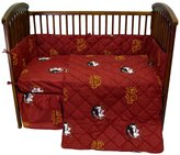College Covers NCAA Florida State 5 Piece Crib Bedding Set