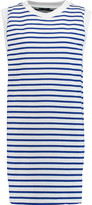 Petit Bateau Striped stretch-cotton mini dress