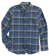 Volcom Boy's Caden Plaid Flannel Shirt