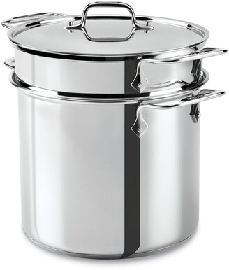 All-Clad 8-Quart 4-Piece Stainless Steel Multi Cooker