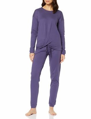 Lovable Women's Violet Jewel Pyjama Set