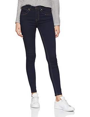 Object Women's Objskinnysophie M/w Obb296 Noos Skinny Jeans, Dark Blue Denim, 31W / 30L
