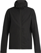 MOVER Wool-lined hooded ski jacket