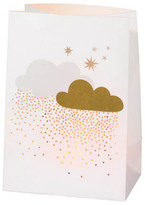 Réder Greetings Card and Cloud Paper Candle Holder