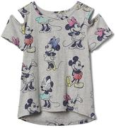 Gap GapKids | Disney Mickey Mouse and Minnie Mouse cold shoulder tee