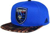adidas San Jose Earthquakes Skyline Snapback Cap