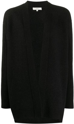 Vince ribbed back loose-fit cardigan