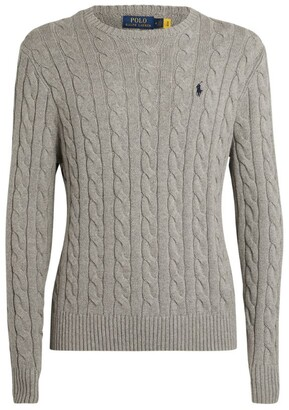 Polo Ralph Lauren Cotton Cable-Knit Sweater