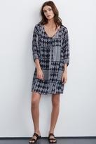 Alma Mali Print Dress