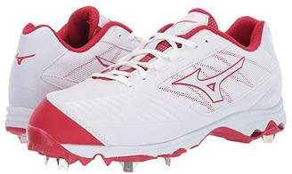 Mizuno 9-Spike Advanced Sweep 4 (White/Red) Women's Shoes