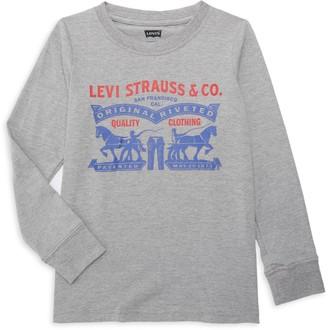 Levi's Little Boy's & Boy's Graphic Logo Cotton-Blend Tee