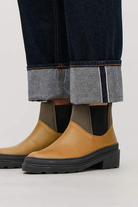 Cos CHUNKY SOLE LEATHER ANKLE BOOTS