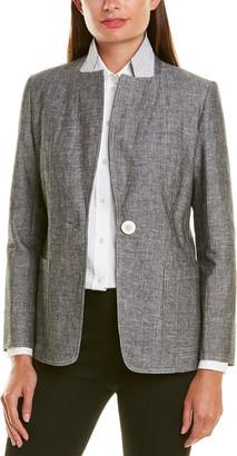 Lafayette 148 New York Alba Linen-Blend Jacket