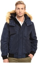 Andrew Marc Knox Down Bomber w/ Removable Faux Fur Hood