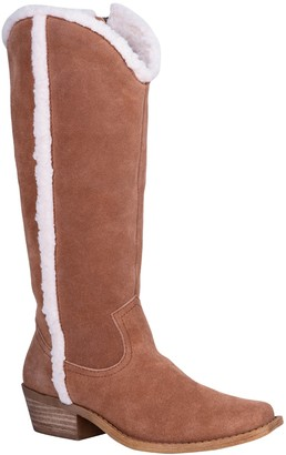 Dingo Jango Faux Shearling Lined Tall Boot
