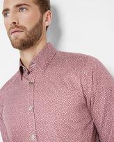 SHAKEIT Floral print shirt