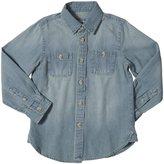 E-Land Kids Chambray Shirt (Toddler/Kid) - Chambray-7