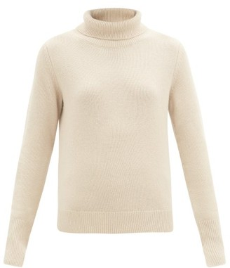 Joseph Roll-neck Cashmere Sweater - Beige