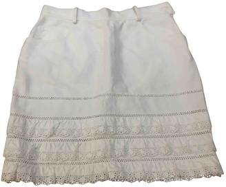 Philosophy di Alberta Ferretti White Cotton Skirt for Women