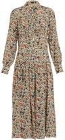 Joseph Josie floral-print silk midi dress
