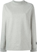 Nike Essentials fleece mock neck sweatshirt - women - Cotton/Spandex/Elastane - XS