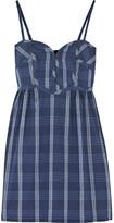 Aubin & Wills Leventhorpe checked cotton dress