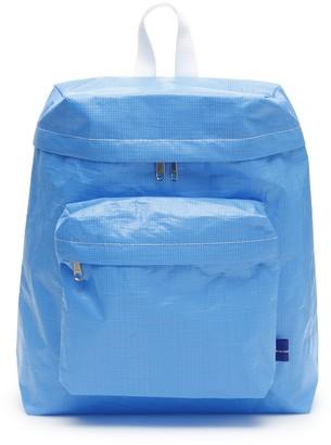 Comme des Garçons Shirt Raffia Effect Zipped Backpack