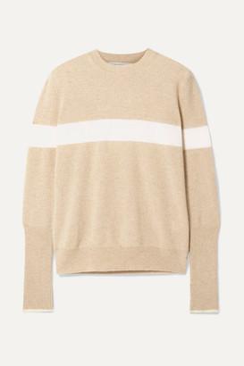 La Ligne Striped Cashmere Sweater - Beige