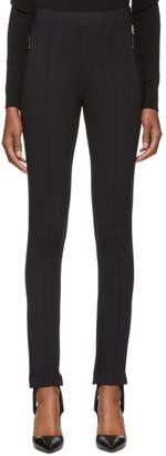 Moncler Genius Black Stirrup Logo Leggings