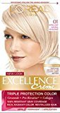 L'Oreal Excellence Creme, 01 Extra Light Ash Blonde, (Packaging May Vary)