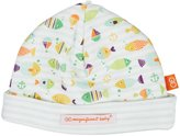 Magnificent Baby Here, Fishy Fishy Reversible Hat - Green-One Size