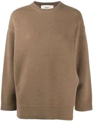 Ports 1961 Knitted Long Sleeve Jumper